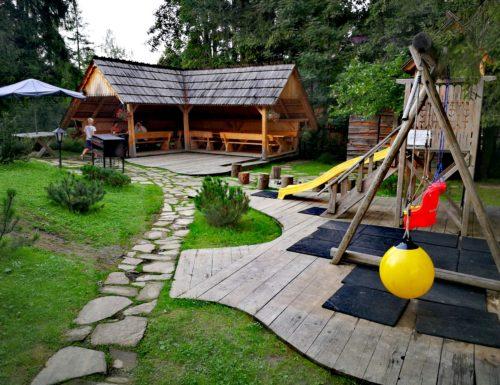 Plac zabaw w Pensjonacie Tatra House. fot. Pensjonat Tatra House